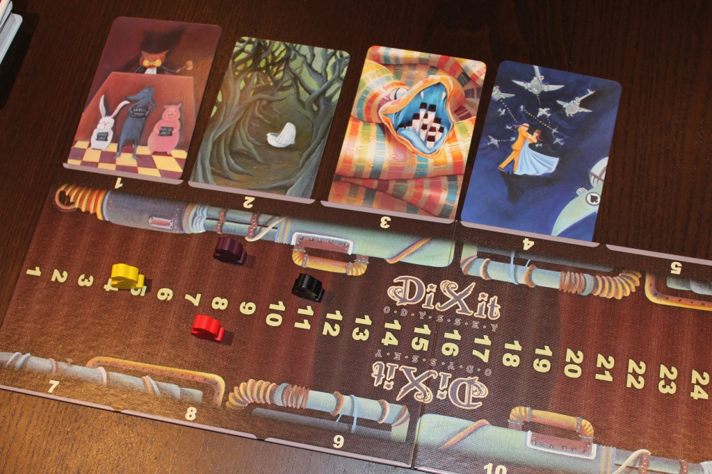 Dixit Cards and Rabbits