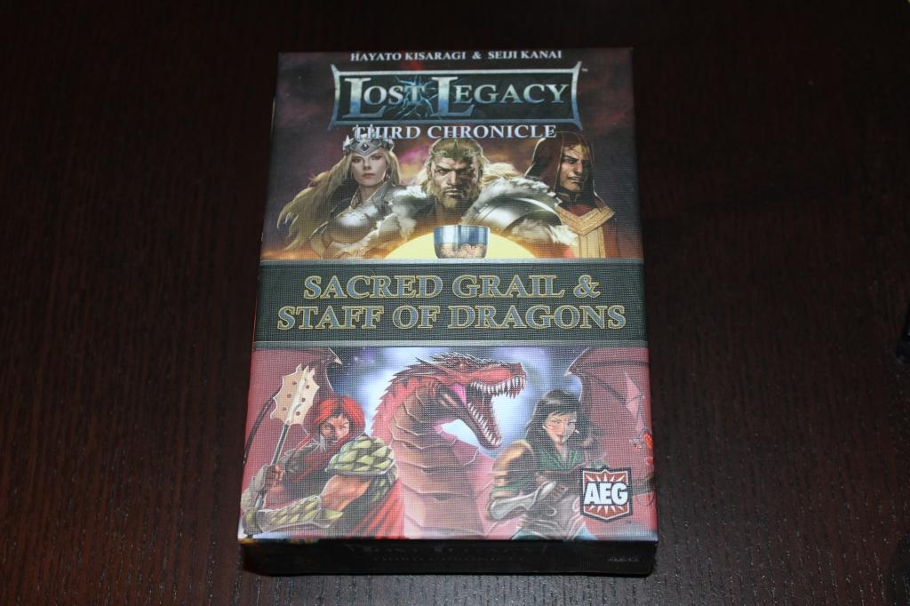Lost Legacy - Third Chronicle Box