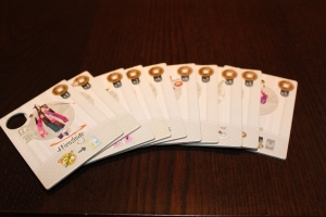 Tokaido Character Cards