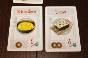 Tokaido Meal Cards