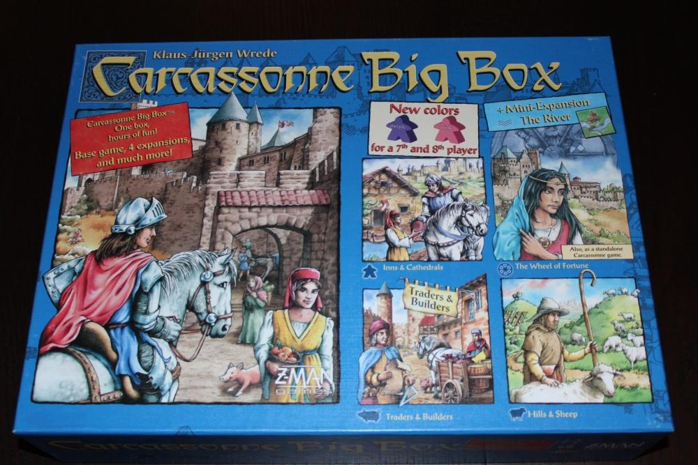 #16 - Carcassonne [Base Game] (1/6)
