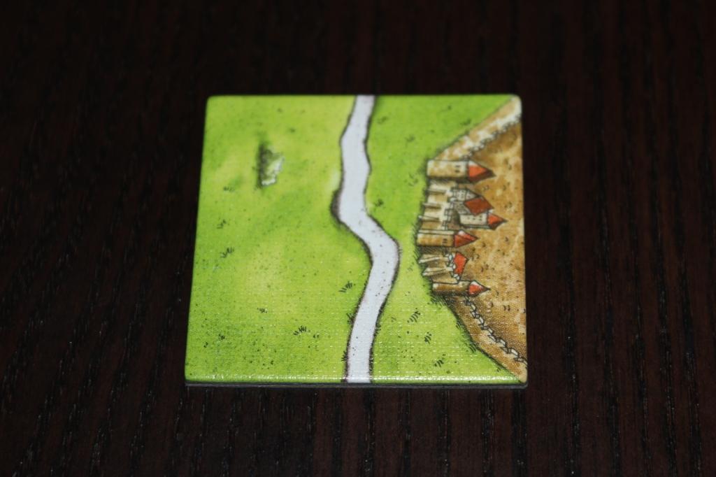 Carcassonne Start Tile