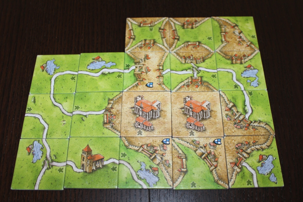 #17 - Carcassonne: Inns & Cathedrals [Expansion 1] (1/6)