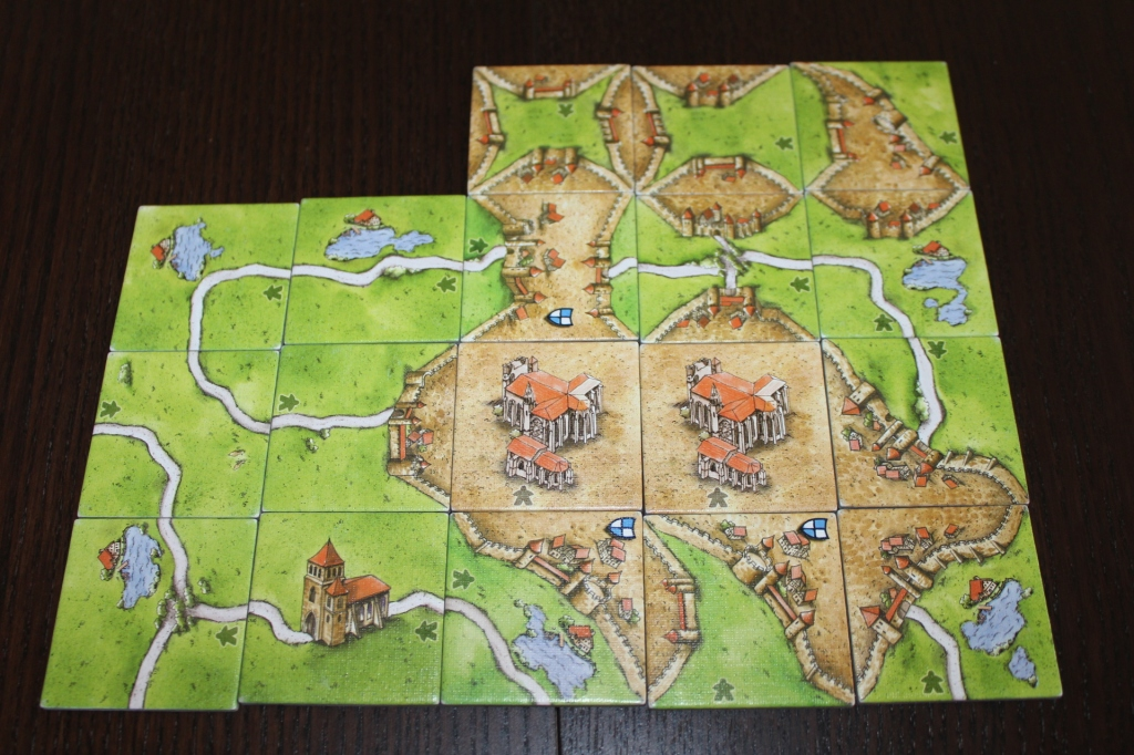 Carcassonne Inns and Cathedrals Tiles
