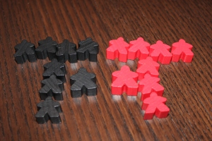 Carcassonne Inns and Cathedrals Meeples