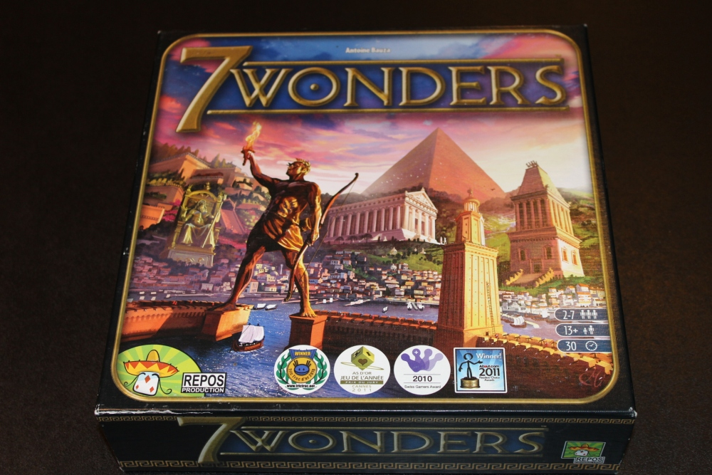 #21 - 7 Wonders [Base Game] (1/6)