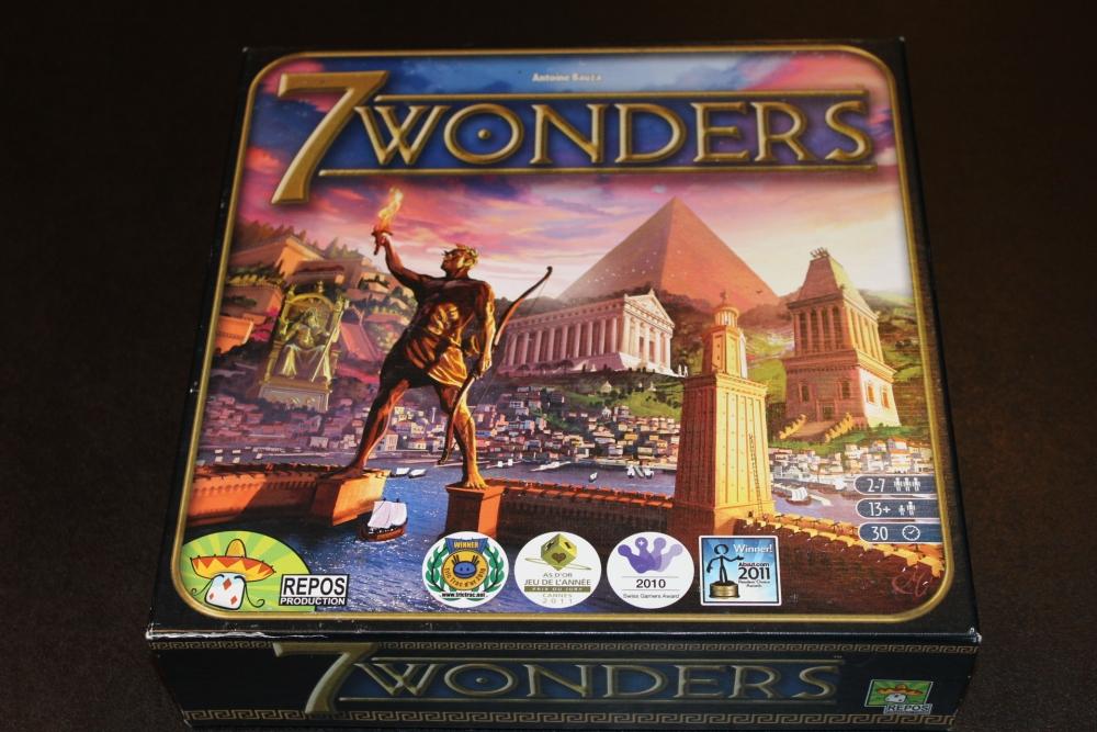 #21 - 7 Wonders [Base Game] (1/6)