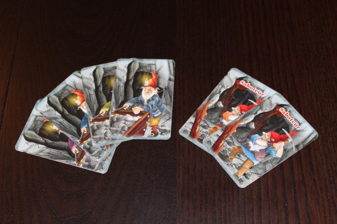 Saboteur Dwarf Cards