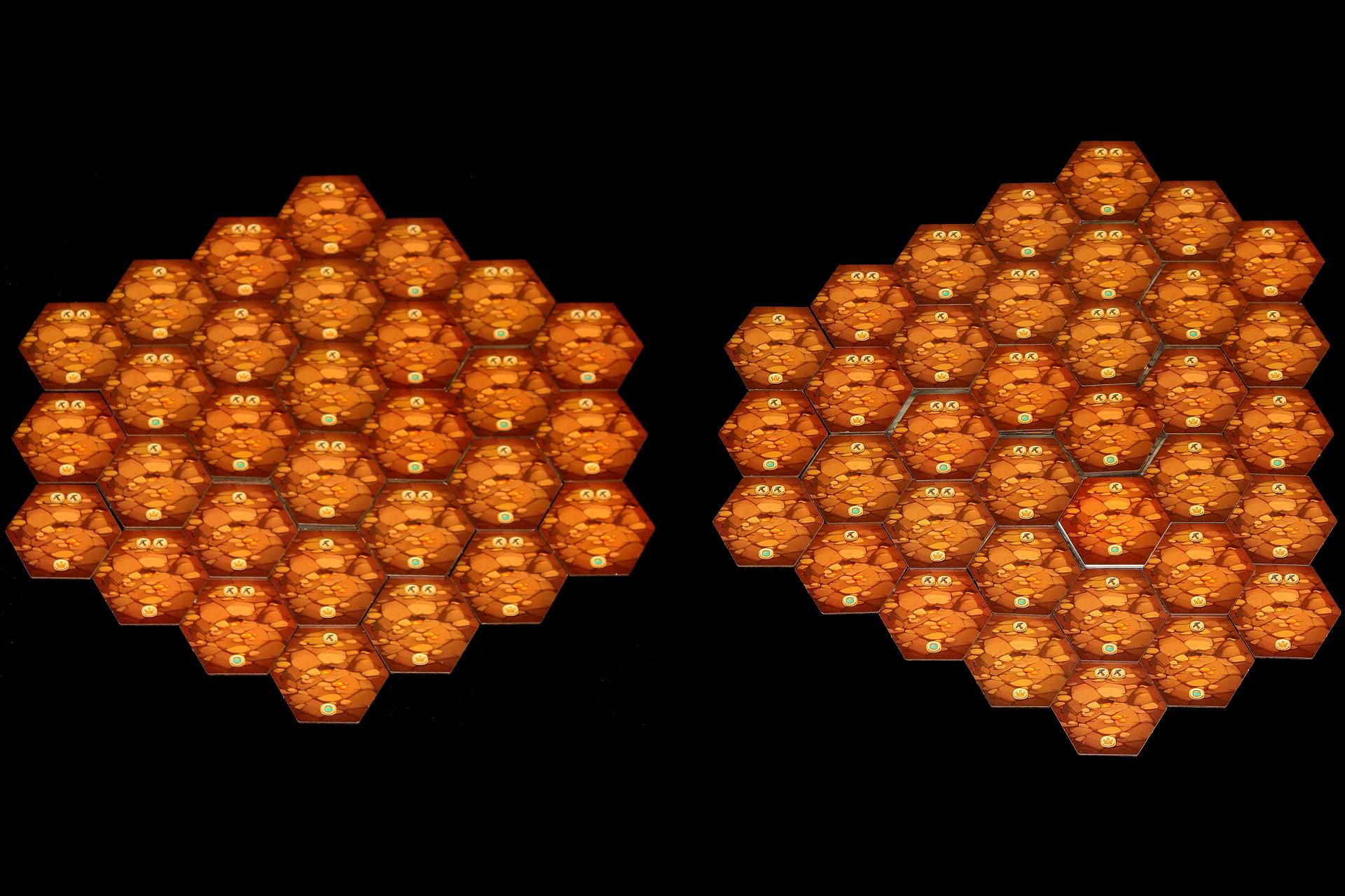 Mounts Honeycomb