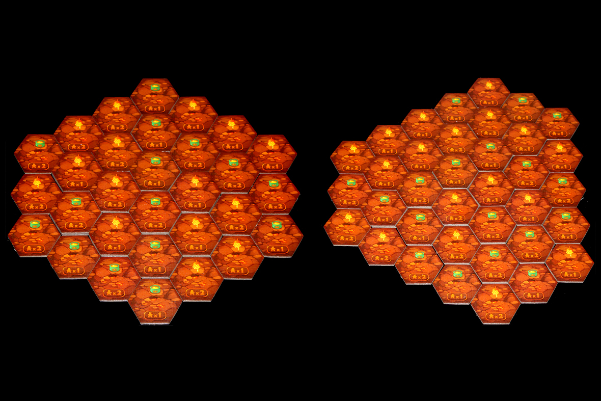 Mounts Honeycomb