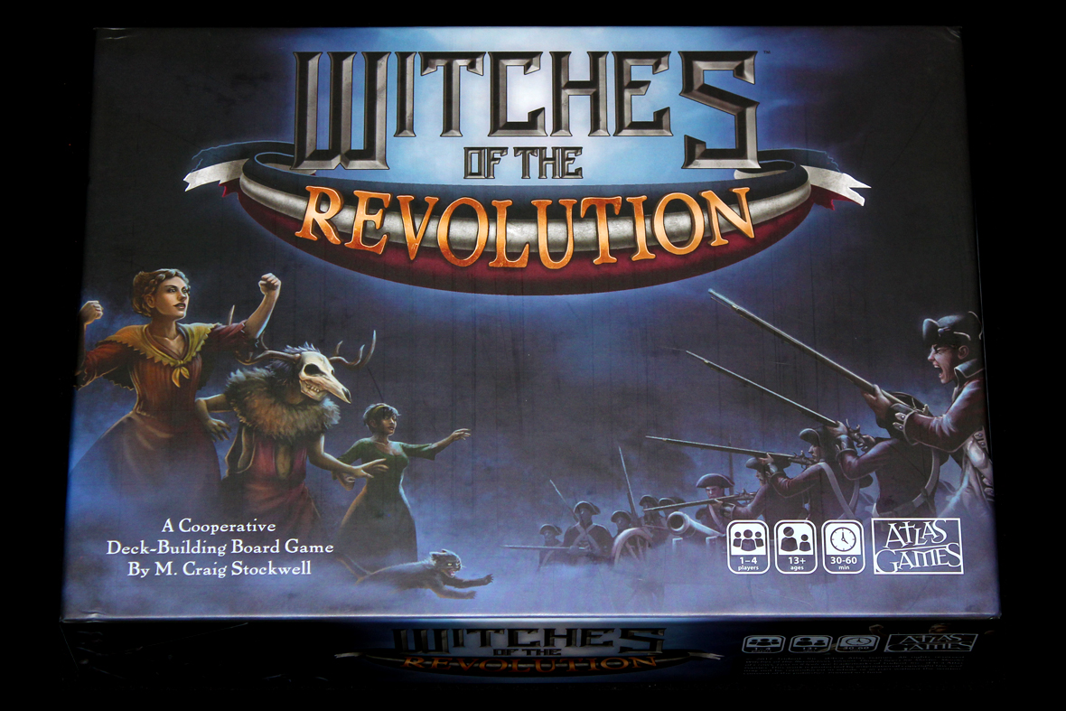132 – Witches of the Revolution – What's Eric Playing?
