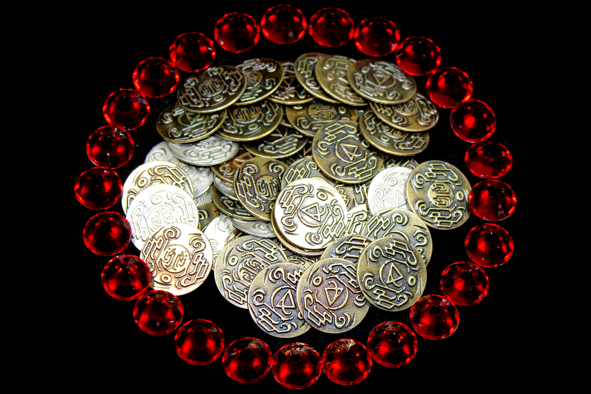 Coins and Gems