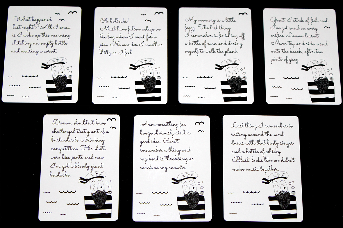 Sunken Sailor Cards