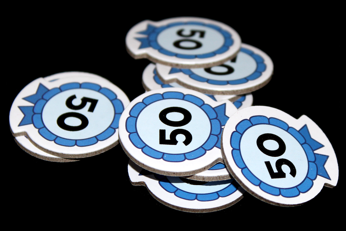 Fifty Point Tokens