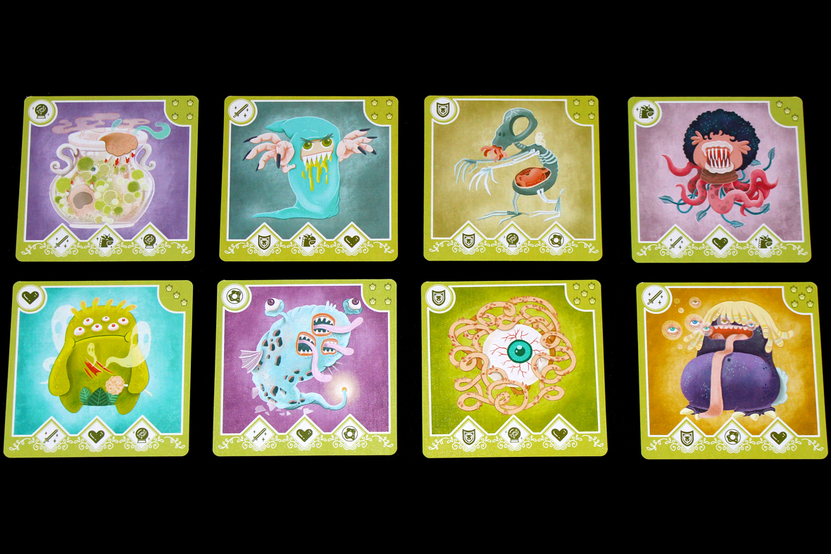 182 dream catchers preview whats eric playing these have three symbols on them if you have all three symbols in your hand you can attempt to fight the monster the number in the top right corner is biocorpaavc Choice Image