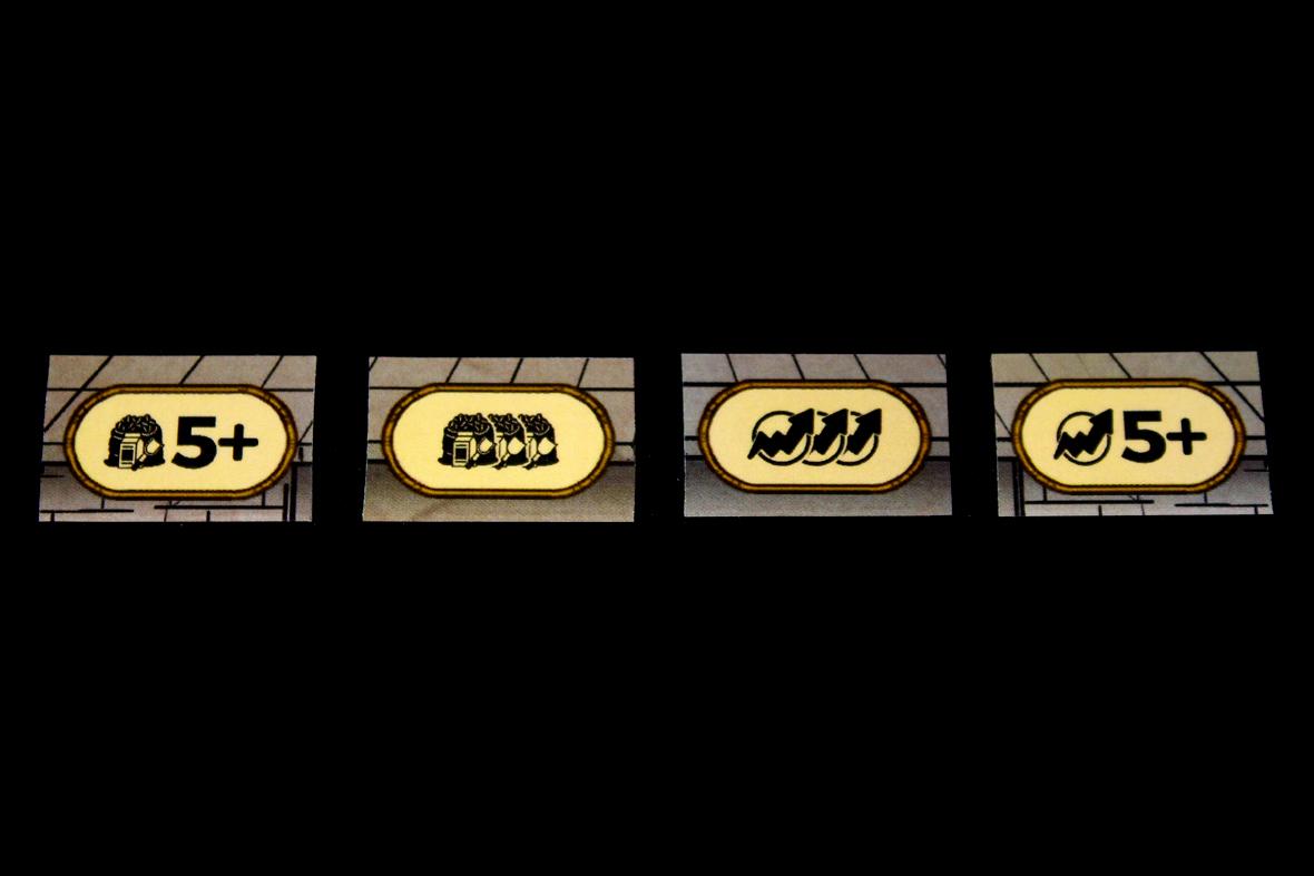 Player Board Bonuses