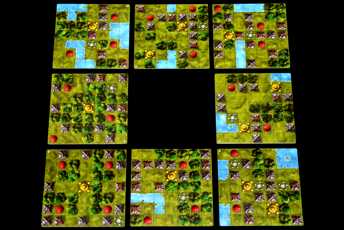 3 Player Arrangement