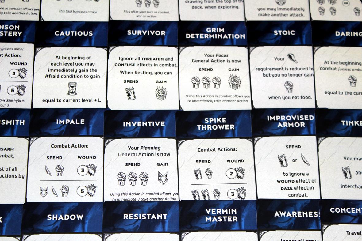 Skill Cards