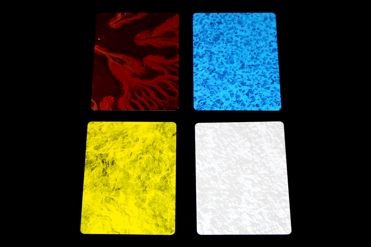 Pottery Color Cards