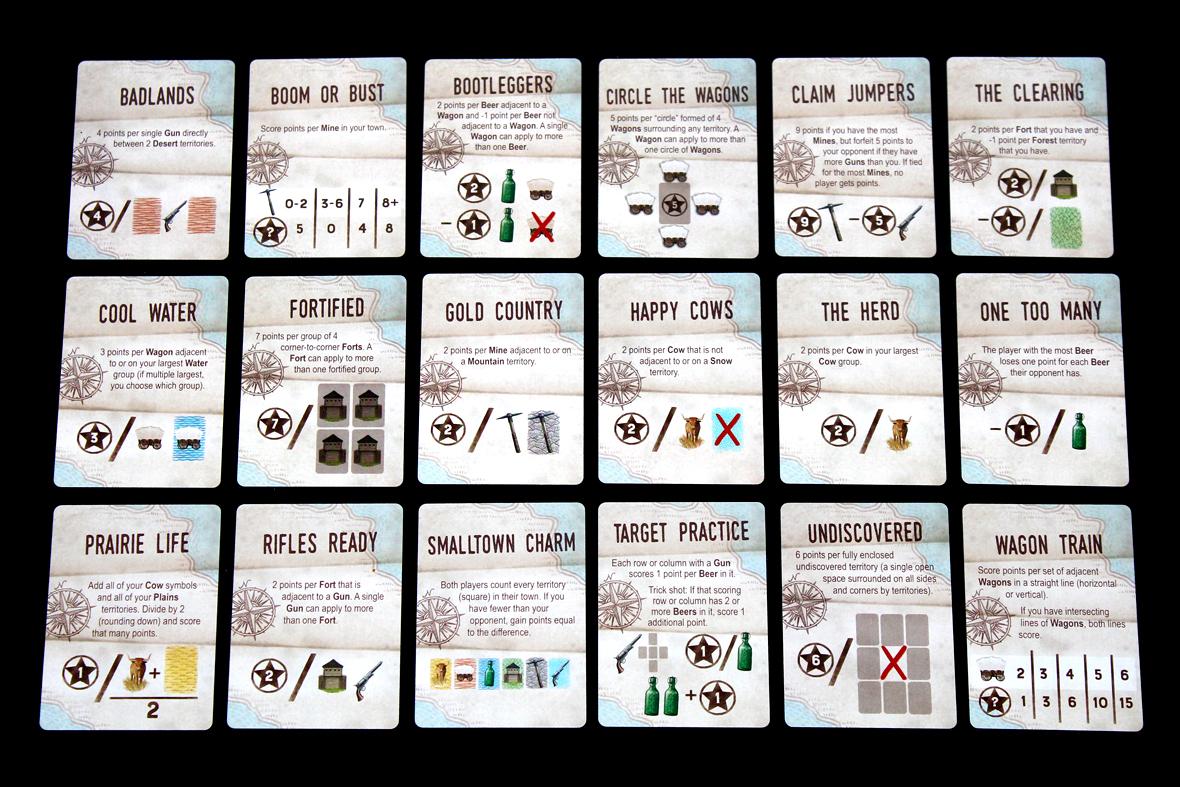 Scoring Cards