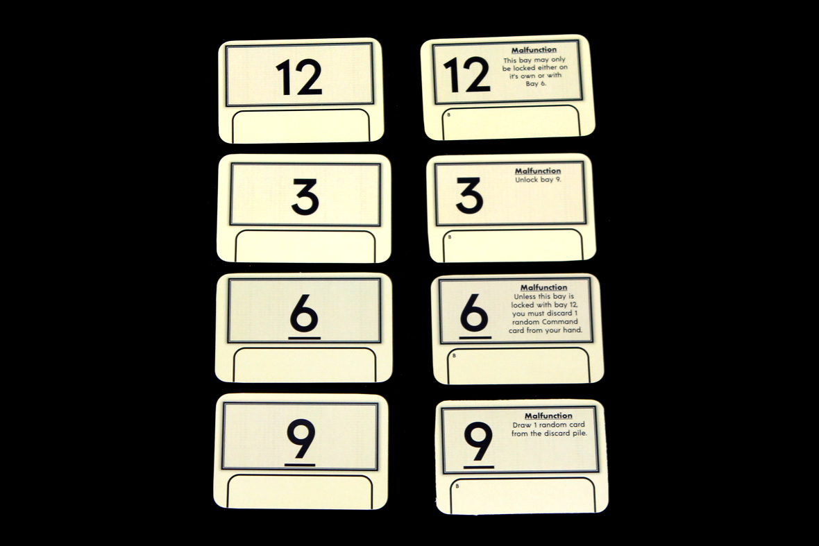 Bay Marker + Malfunction Cards