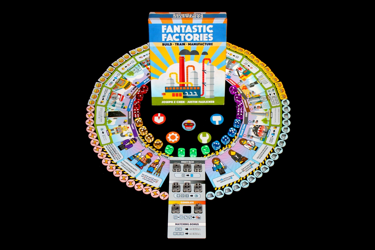 #214 – Fantastic Factories [Preview] – What's Eric Playing? image