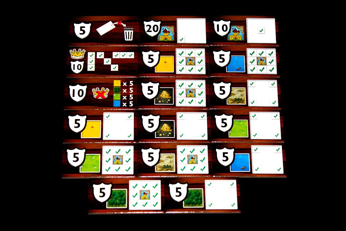 Challenge Tiles