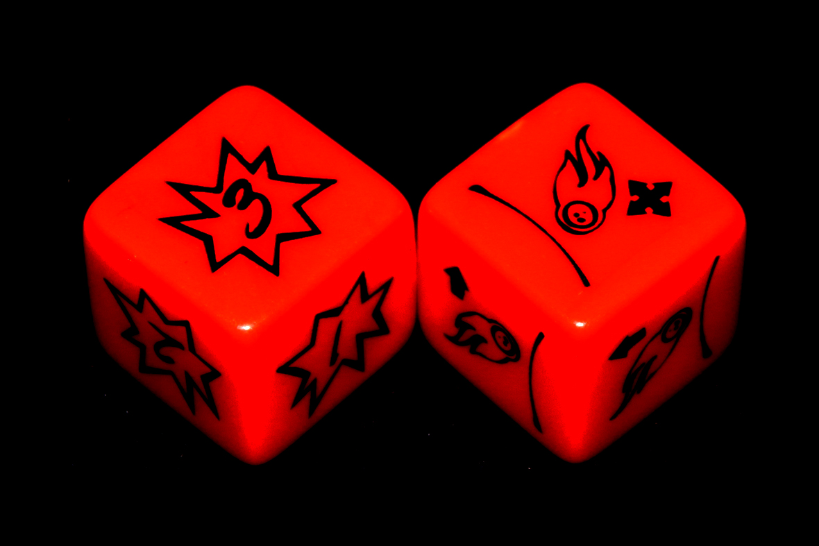 Expansion (Meteor) Dice
