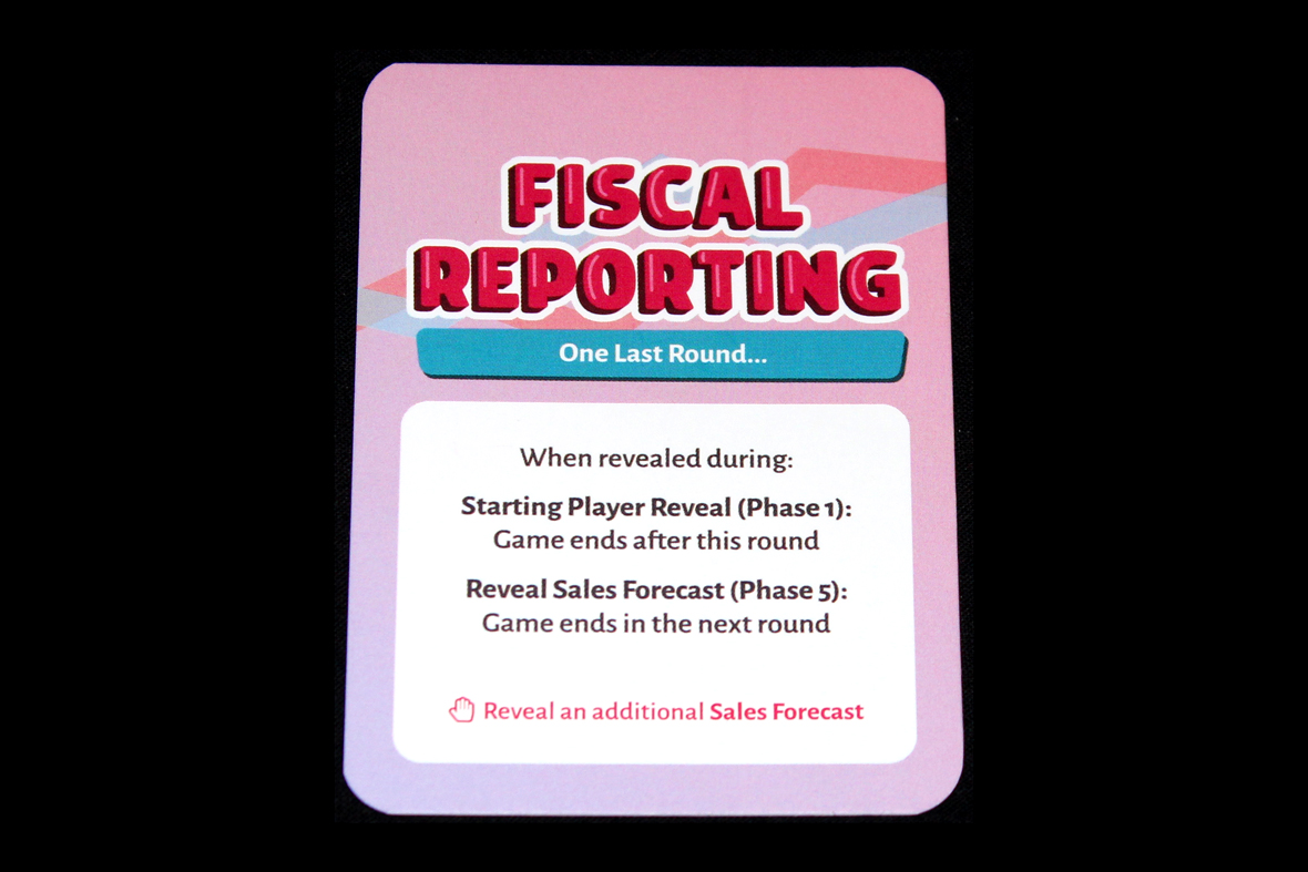 Fiscal Reporting Card
