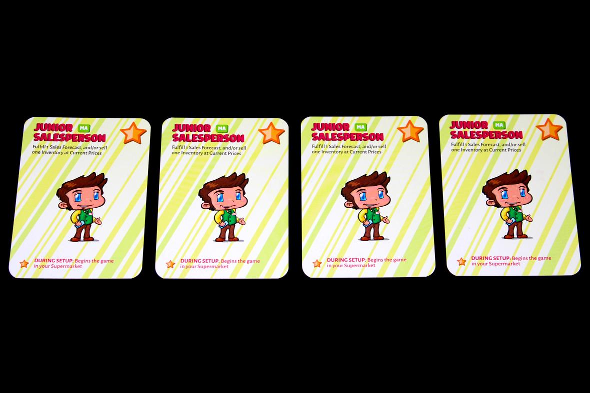 Junior Salesperson Cards