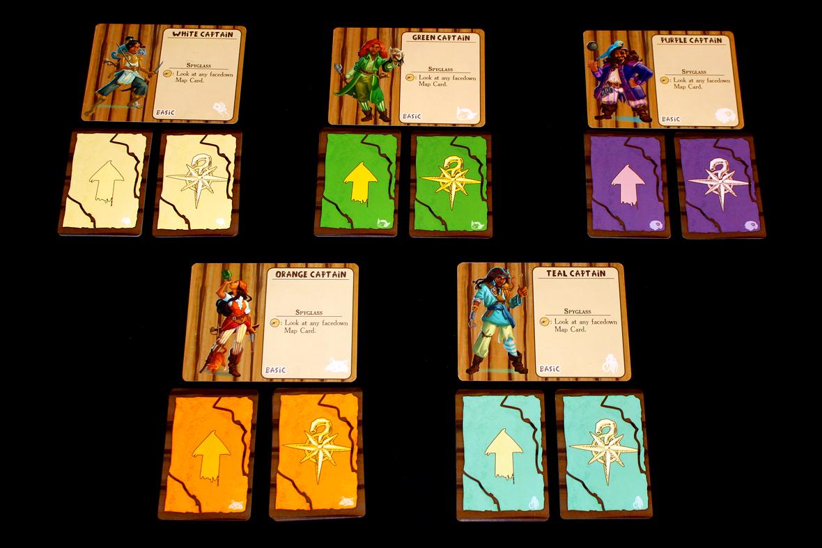 Basic Captains + Map Cards