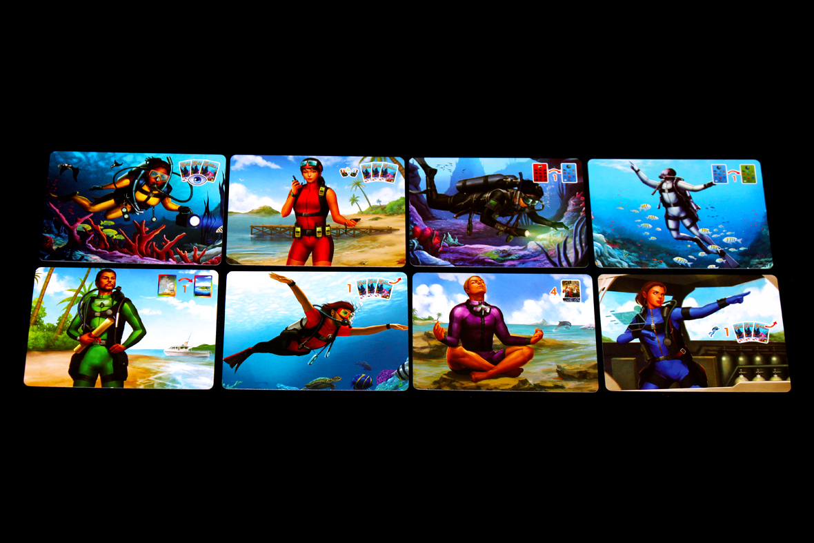 Diver Cards