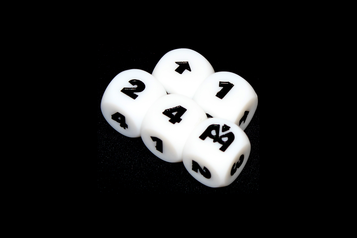 Treasure Hunter Dice