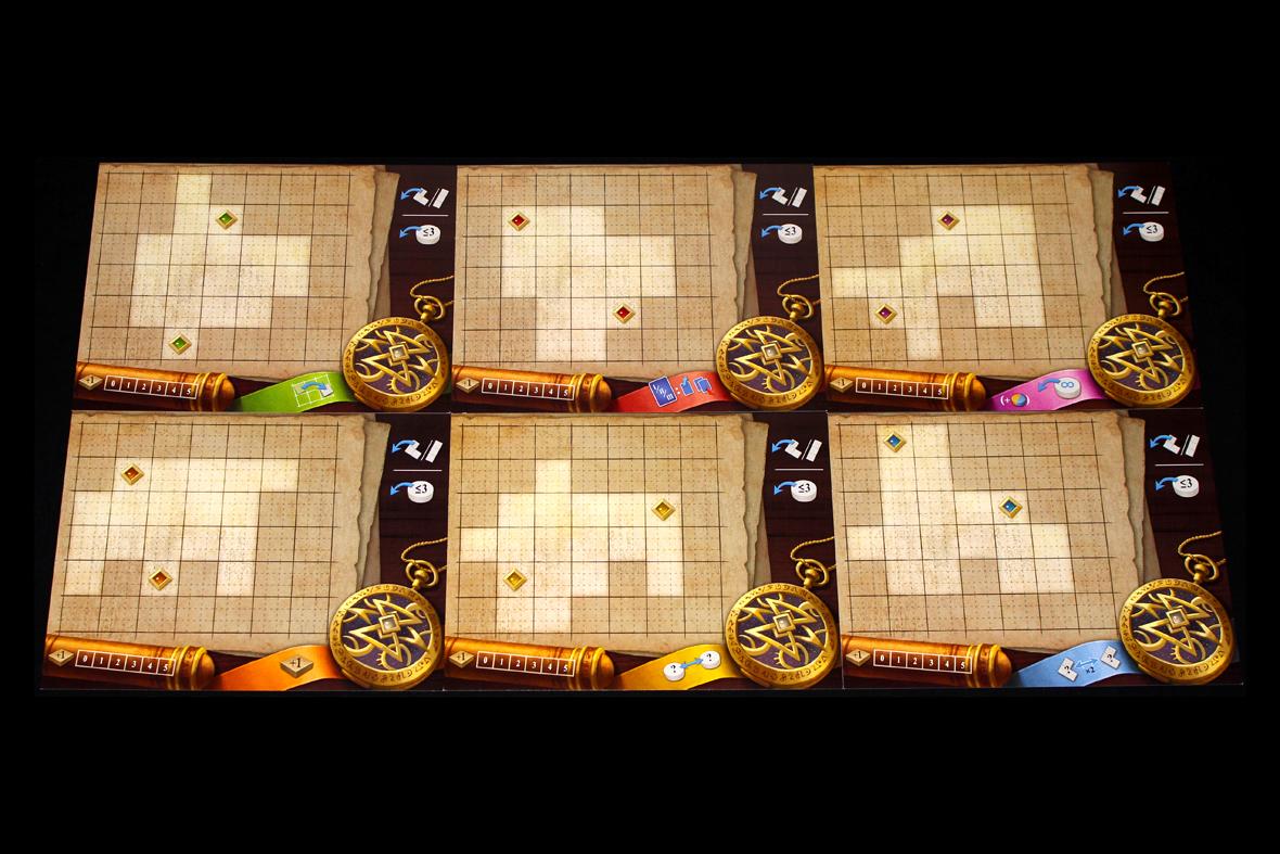 Advanced Player Boards