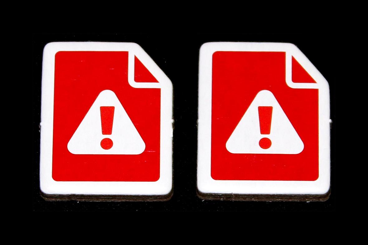 Hospital Warning Tokens