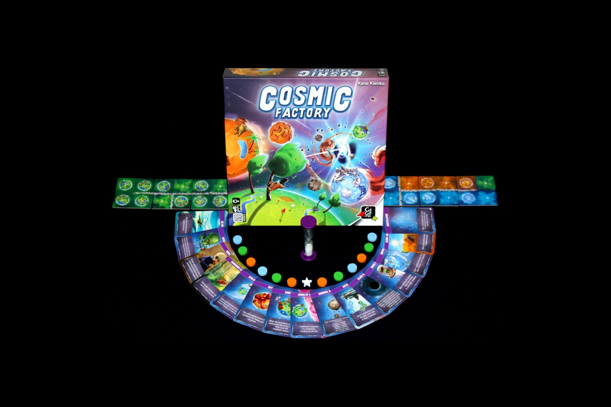 #357 – Cosmic Factory – What's Eric Playing? image