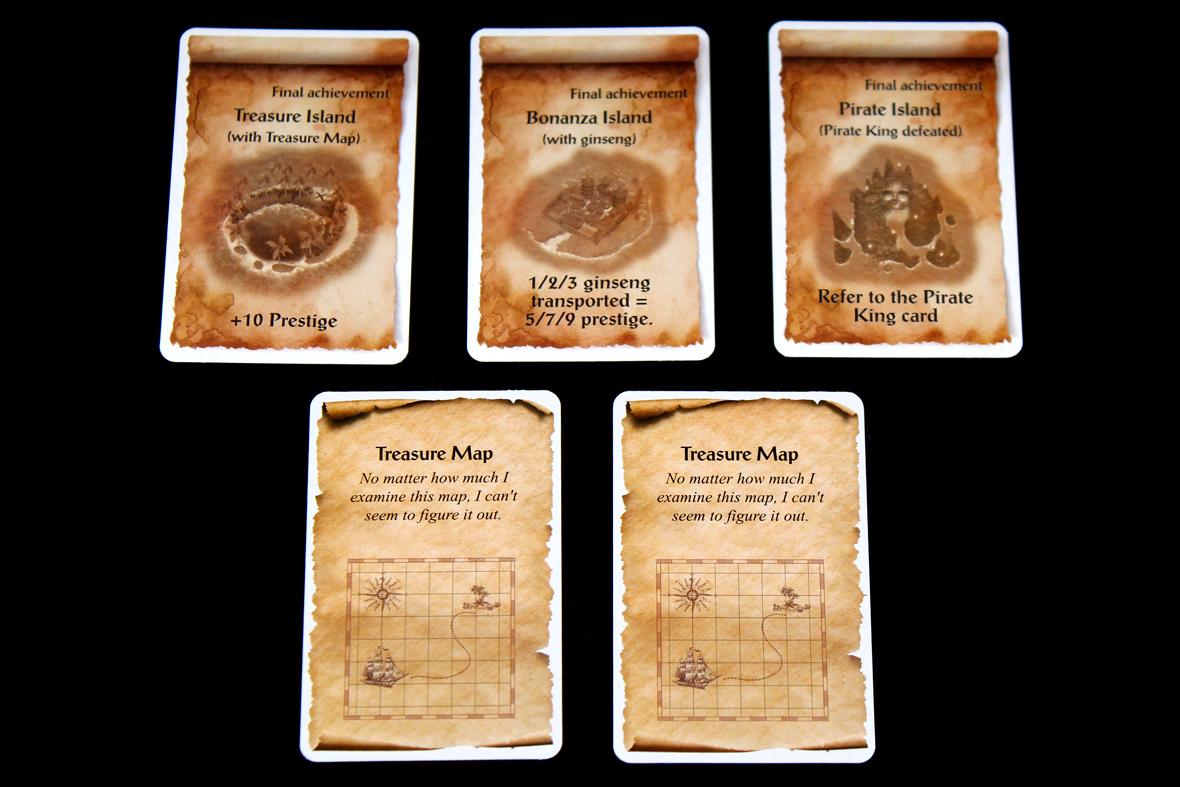 Achievements + Treasure Map