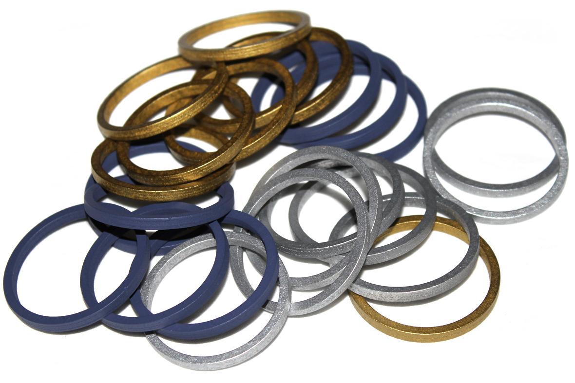 Actual Large Rings