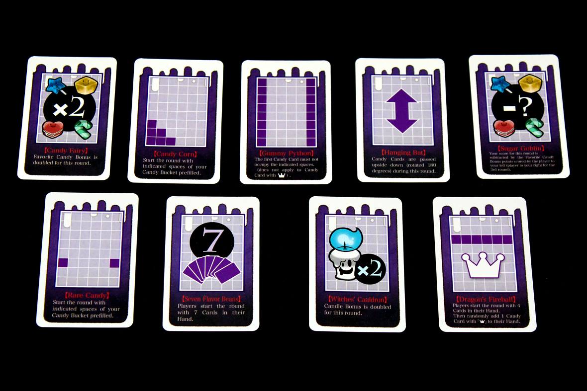 Round Modifier Cards