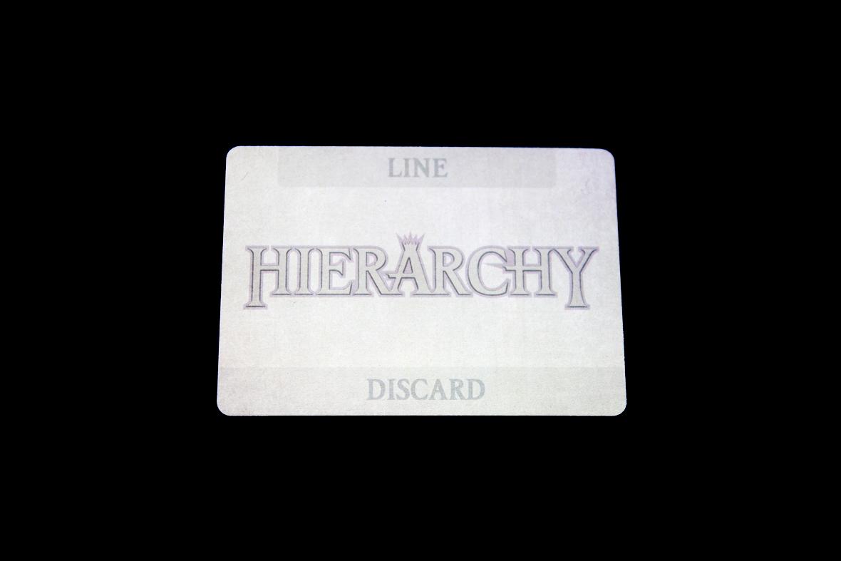 Separator Card