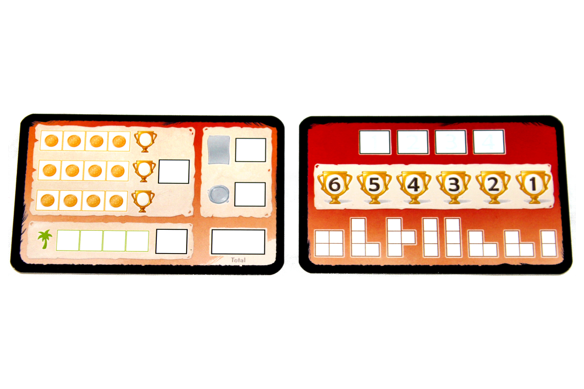 Score and Round Cards