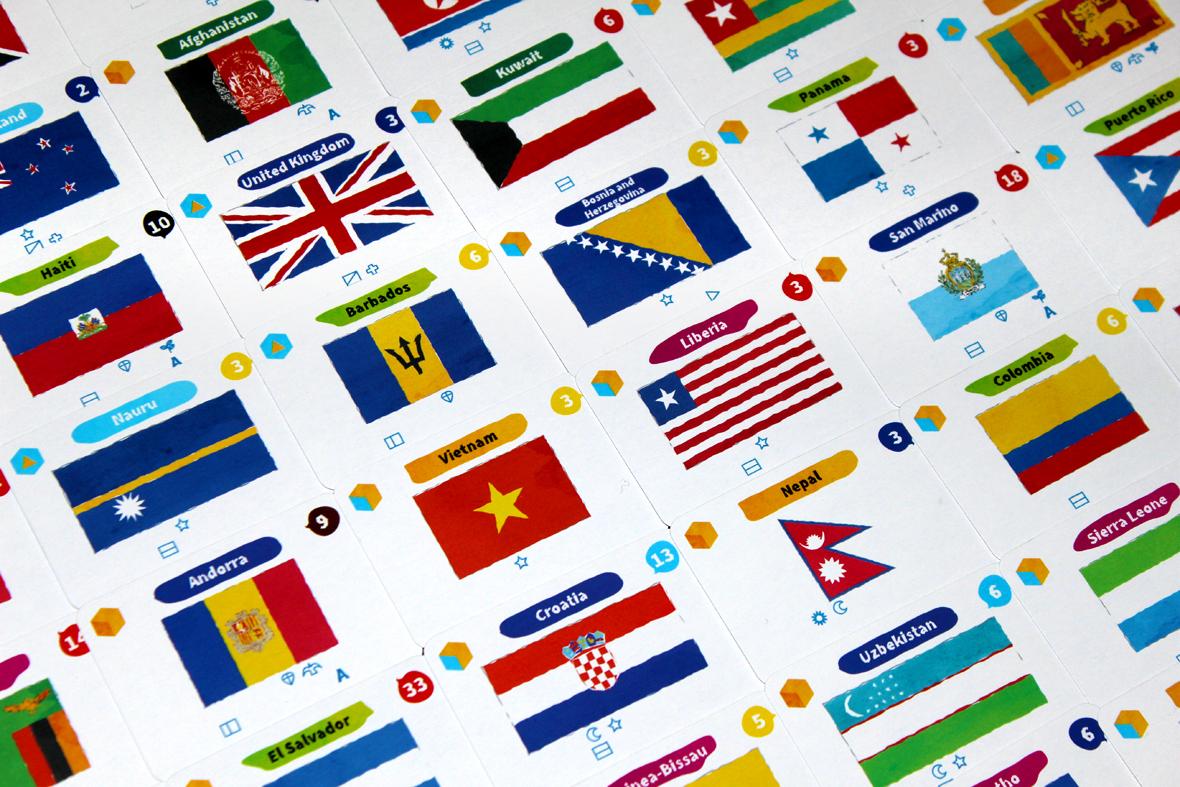 Flag Cards