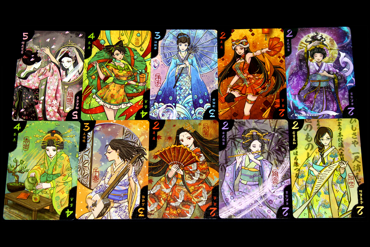 Geisha Cards