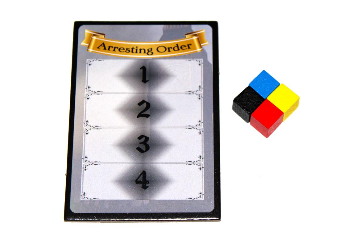 Arresting Order